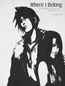 FFVIII Fanfiction Book Cover