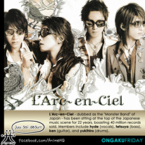 [J-Rock] Ongaku Friday: L'Arc~en~Ciel