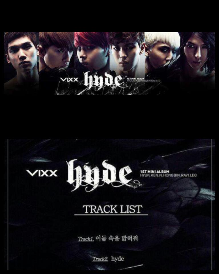 "[K-Pop] ""VIXX"" to Release 1st Mini Album ""hyde"""
