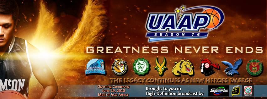 76 Uaap Basketball Team Line Up