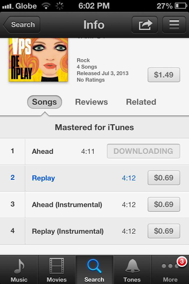 """[J-Rock] VAMPS' New Single """"AHEAD/REPLAY"""" Available on iTunesPhilippines!"""
