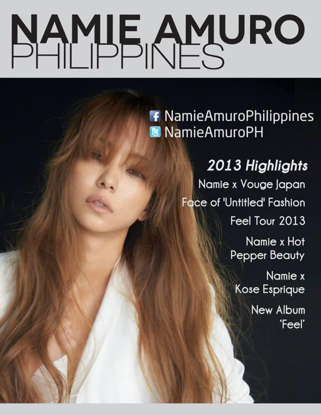 [J-Pop] Namie Amuro 21st Anniversary + Namie Calendar