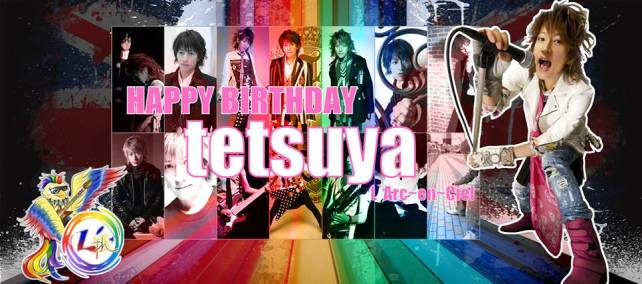 [J-Rock] Happy Birthday to tetsuya! :)