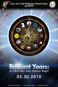 Brilliant Years L'Arc~en~Ciel Tribute Night